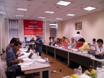 Pelatihan asesor kompetensi LSPP
